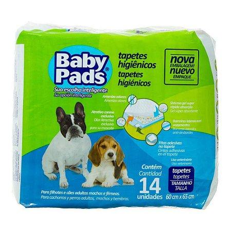 Tapete Higiênico Baby Pads para Cães 60x65cm