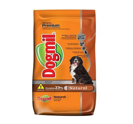 Ração Dogmil Natural Carne para Cães Adultos 15kg