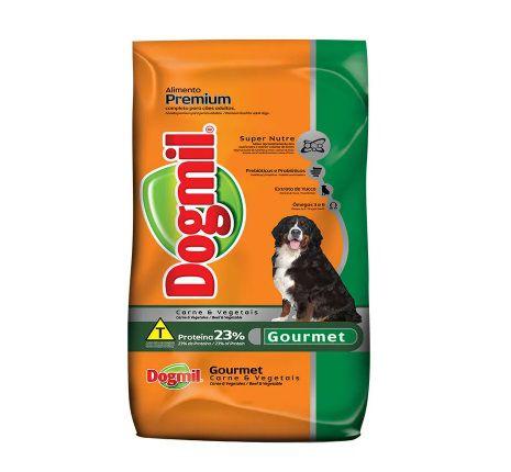 Ração Dogmil Gourmet Carne e Vegetais para Cães Adultos 15kg