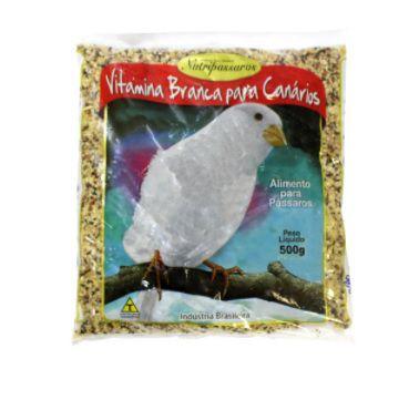 Ração para Canário Nutripássaros Vitamina Branca 500g