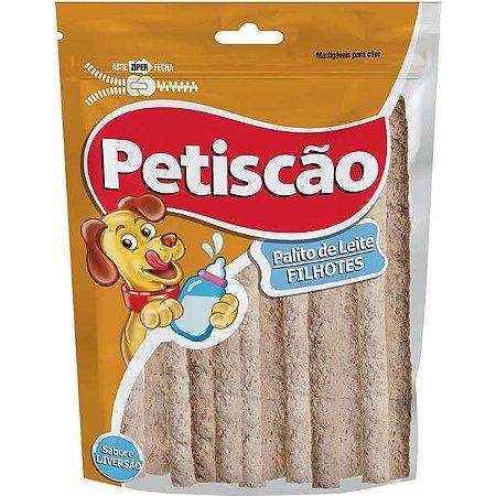 Palito Petiscão ao Leite para Cães Filhotes -200 g