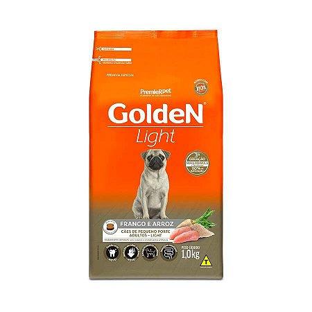 Premier Golden Formula Cães Adultos Light Mini Bits Frango e Arroz