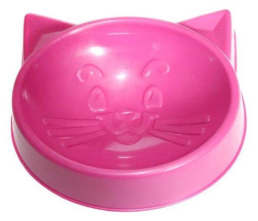 Comedouro Pequeno Cara de Gato 100 ml para Gatos
