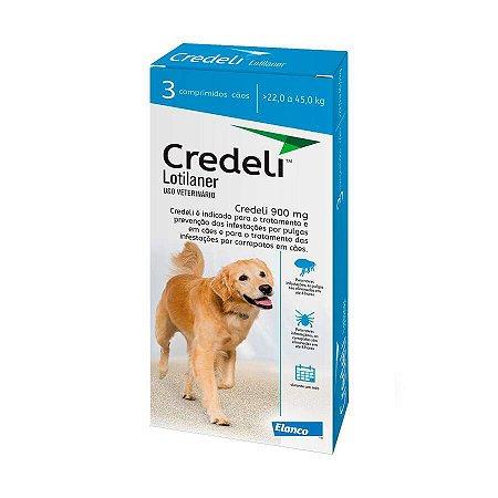 Antipulgas Credeli Elanco para Cães 22 a 45kg