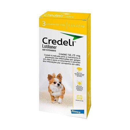 Antipulgas Credeli Elanco para Cães 1,3 a 2,5kg
