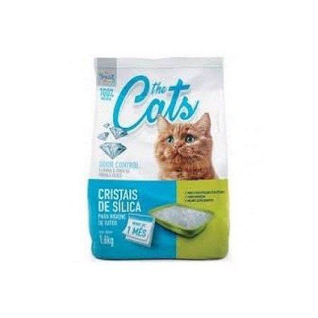 Areia Higiênica The Cats Cristais Silica Gatos 1,6kg