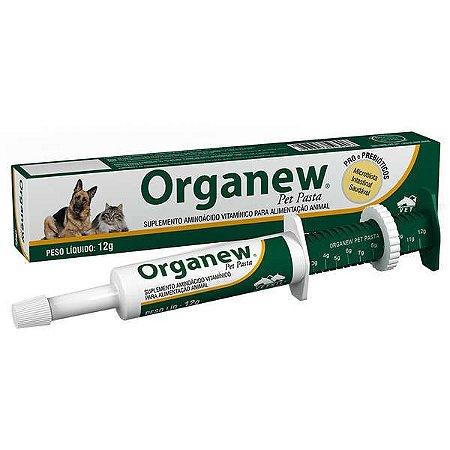 Suplemento Vitamínico Organew Forte Probiótico  Pasta 12g