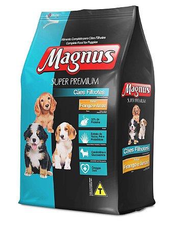 Ração Magnus Super Premium Frango Para Cães Filhotes 10kg