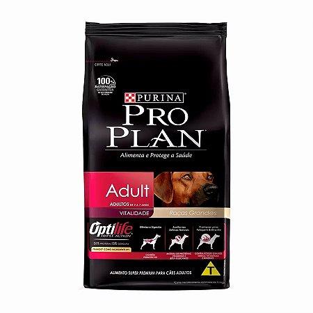 Ração Purina ProPlan para Cães Adultos de Raças Grandes 15kg