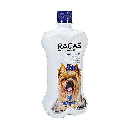 Shampoo para Yorkshire Terrier - World Raças 500ml