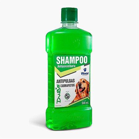 Shampoo Dugs Antipulgas E Carrapatos 500 Ml Para Cães
