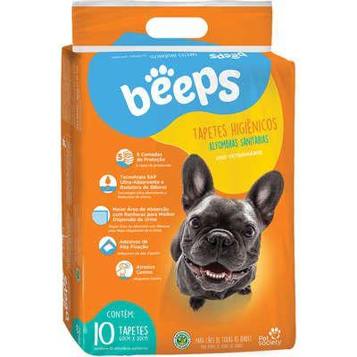 Tapete Higiênico Beeps Training Pads para Cães 10 unidades