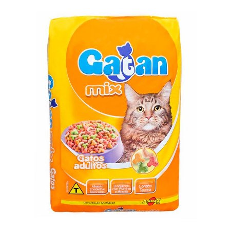 Ração Gatan Mix para gatos adultos 15 kg