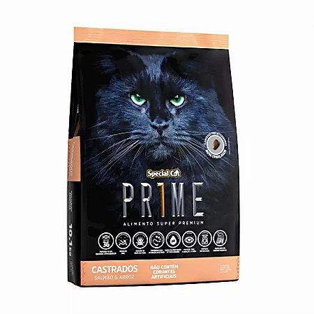 Ração Special Cat para Gatos Adultos Castrados Sabor Salmão 20,kg