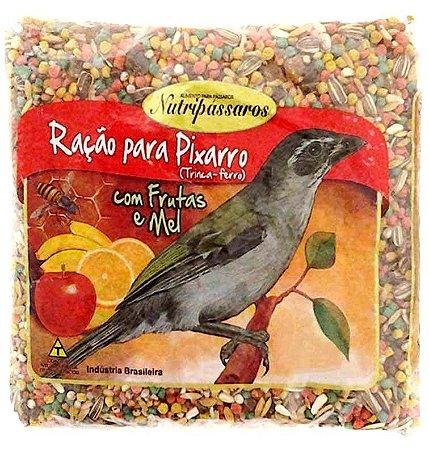 Ração para Pixarro Trinca-Ferro Nutripássaros com Frutas e a Mel 500g