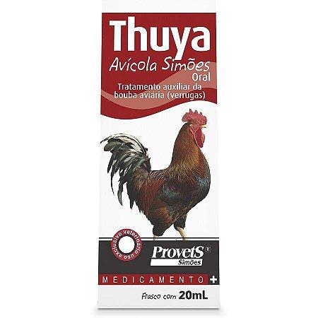 Thuya avícola simões Oral Provets 20ml