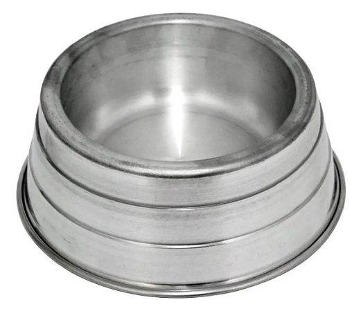 Comedouro Alumínio Pesado Para Cães