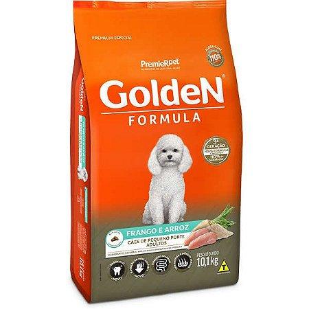 Ração Golden para Cães Adultos Raças Pequenas Frango e Arroz