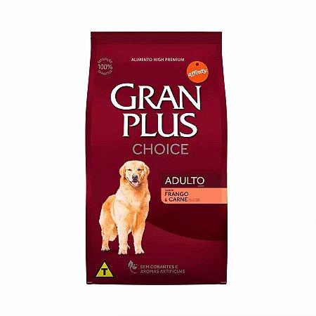Ração GranPlus Choice Frango e Carne para Cães Adultos