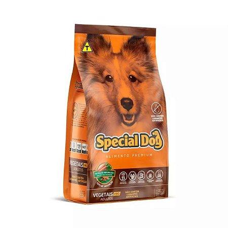 Ração Special Dog Premium Vegetais Pro para Cães Adultos