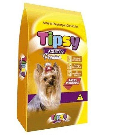 Ração Tipsy Cães adulto Raças Pequenas