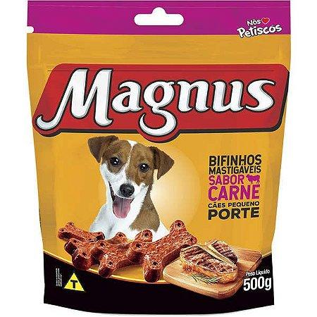 Bifinho Magnus Mastigáveis Sabor Carne para Cães Raças Pequenas