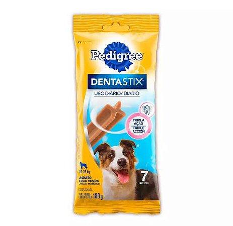 Petisco Pedigree Dentastix Oral Para Cães Adultos Raças Médias