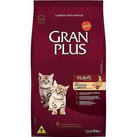 Ração GranPlus para Gatos Filhotes Sabor Frango e Arroz