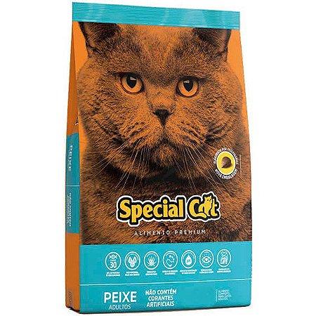 Ração Ração Special Cat  Peixe para Gatos Adultos