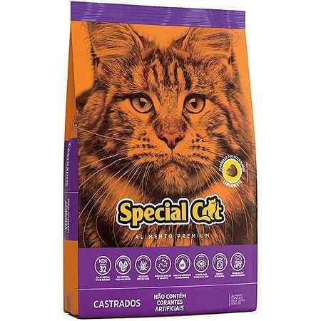 Ração Special Cat Premium para Gatos Adultos Castrados