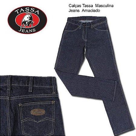 Calças Tassa Masculina Jeans Cowboy Cut Blue