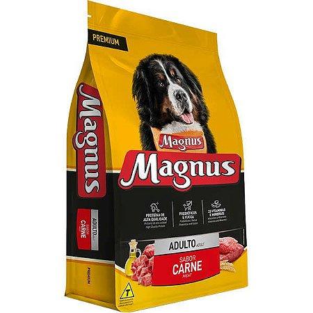 Ração Magnus Premium Carne para Cães Adultos