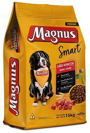 Magnus Premium Smart Cães Adultos Sabor Carne