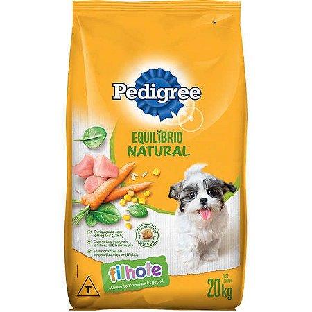 Ração Pedigree Equilíbrio Natural para Cães Filhotes 20kg