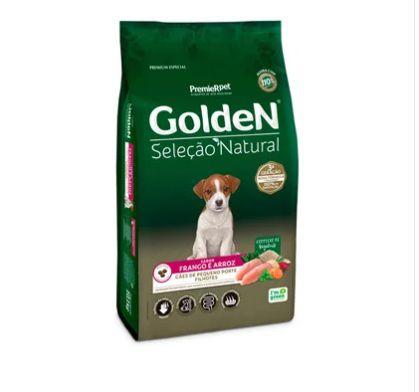 Ração Seca PremieR Pet Golden Seleção Natural para Cães Filhotes Mini Bits