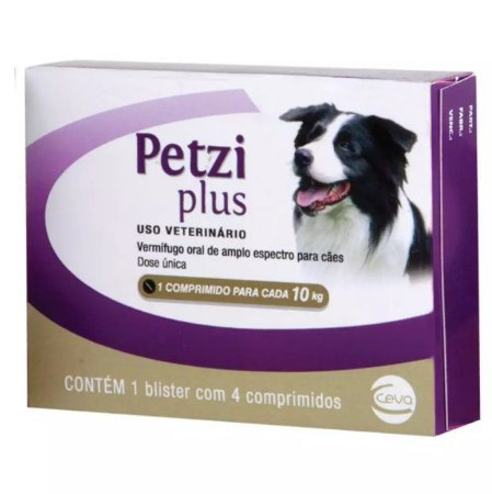 Petzi Plus Ceva para Cães de 5 a 10kg