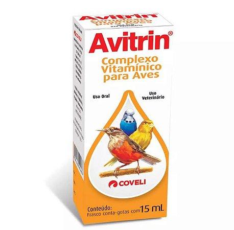 Avitrin Complexo Vitamínicio Coveli 15ml Para Aves