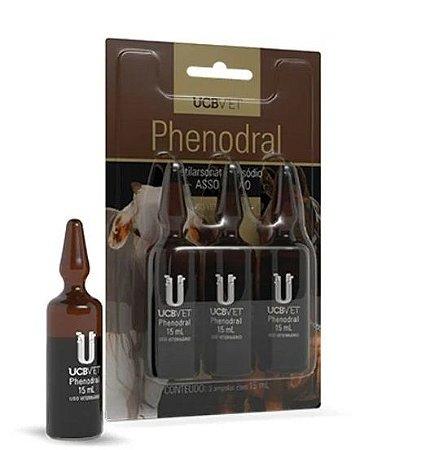 Phenodral 15 ml - Caixa com 3 unidades