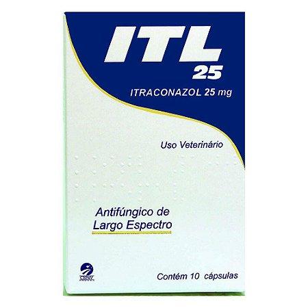 ITL Cepav 25mg 10 Cápsulas