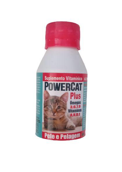 Suplemento Vitamínico Power Cat Plus Para Gatos 100ml