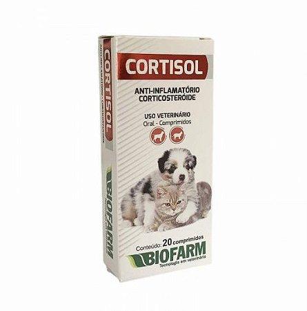 Cortisol Biofarm Anti-inflamatório 20 Comprimidos