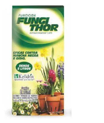 Fungithor Kelldrin Combate Fungos, Mancha Negra 8 Sachês De 10ml