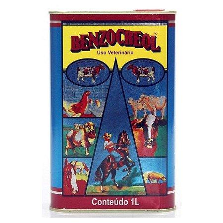 Benzocreol Desinfetante Ambiental Uso Veterinário 1L