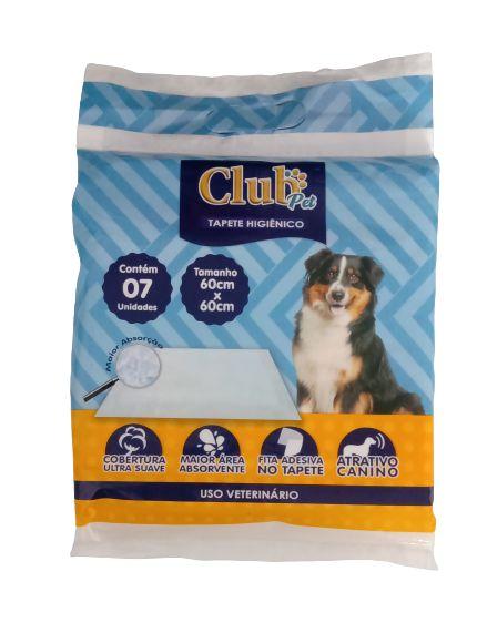 Tapete higienico Club Pet Pra Cães  60cmx60cm