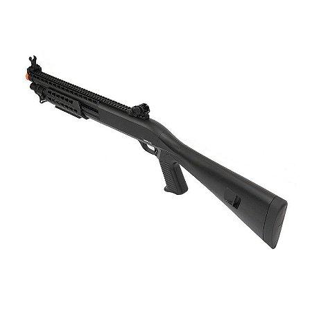 Escopeta Shotgun de Airsoft Spring Full Metal EPG Velites S-XI Cal 6,00mm