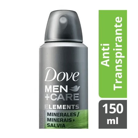 DESODORANTE AEROSOL DOVE MEN MINERAIS+SALVIA 150ml - 3310