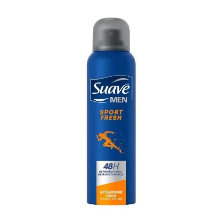 DESODORANTE AEROSOL SUAVE MEN SPORT FRESH 150ml - 5000