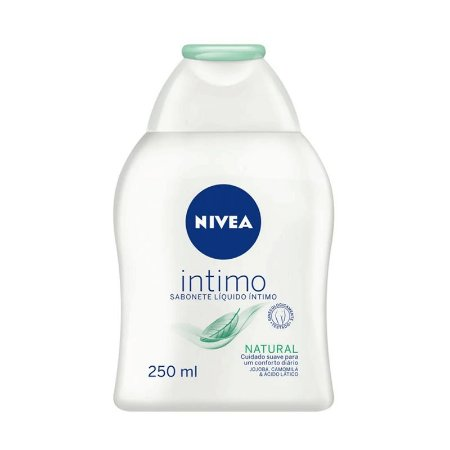 SABONETE LÍQUIDO ÍNTIMO NIVEA NATURAL 250ml - 8131