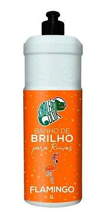 BANHO DE BRILHO KAMALEÃO COLOR FLAMINGO 1 LITRO - 2339