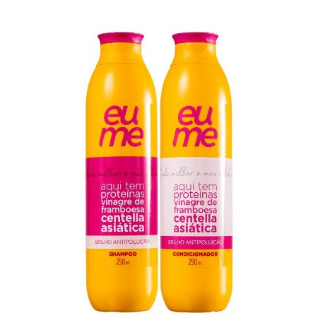 KIT SHAMPOO + CONDICIONADOR ANTIPOLUIÇÃO EUME 250ml